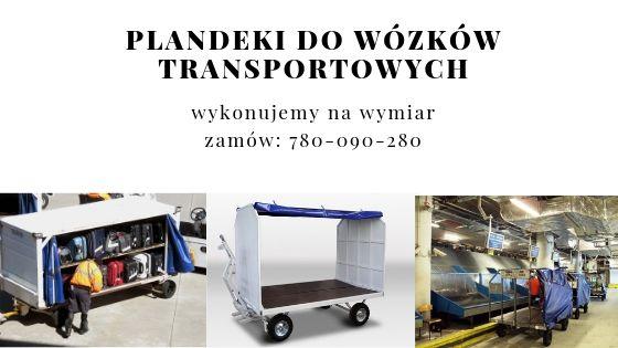 Plandeki do wózków transportowych